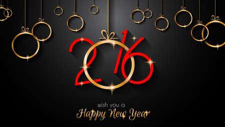 diseño: 2016 Feliz Año Nuevo y Feliz Navidad de fondo para sus fondos de pantalla de temporada, tarjeta de saludos, invitaciones de la cena, los aviadores pary, cubiertas y así sucesivamente.