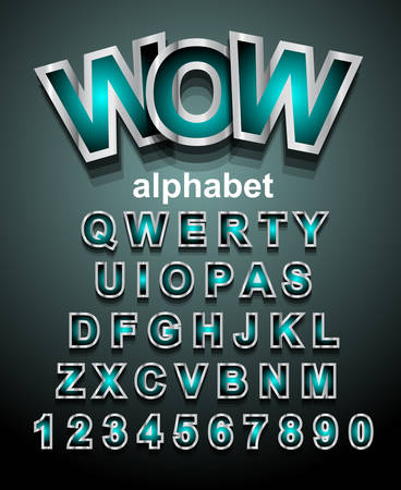 school boys: Funny Colorful Alphapet Font to use for childrens parties invitations, school event posters, funny games descriptions, litttle boys brochure and so on!