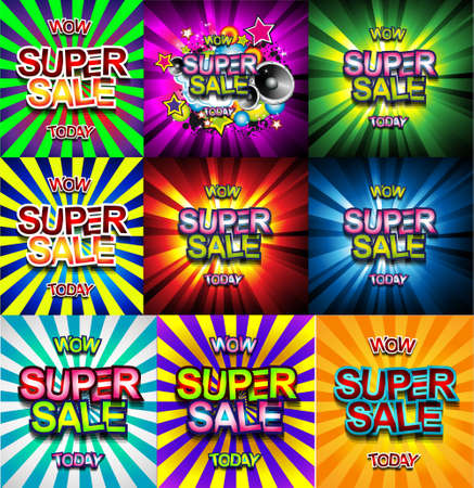 sales promotion: Super Sale Today background for your promotional posters, advertising shopping flyers, discount banners, clearence sales event, seasonal promotions and so on.