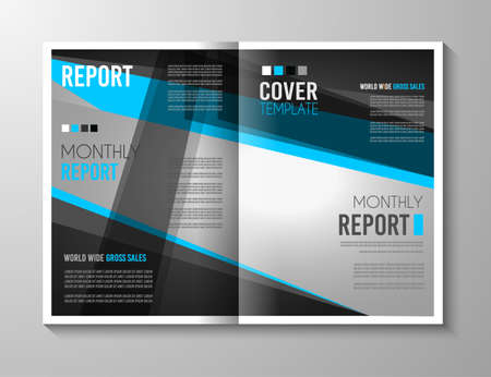 adverts: Brochure template, Flyer Design or Depliant Cover for business presentation and magazine covers, annual reports and marketing generic purposes.