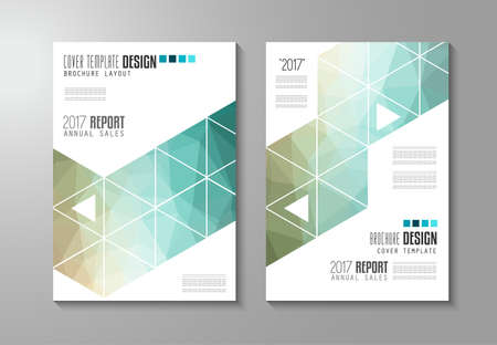 annual report: Brochure template, Flyer Design or Depliant Cover for business presentation and magazine covers, annual reports and marketing generic purposes.