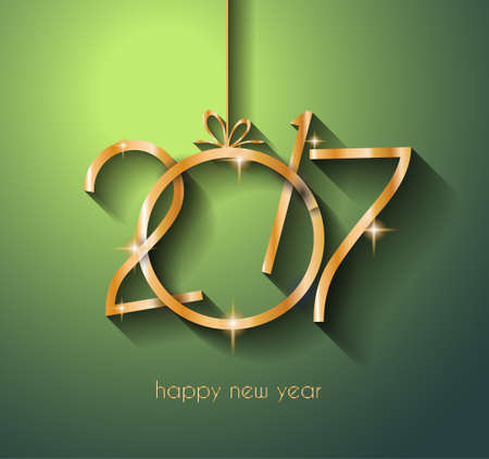 new years eve dinner: 2017 Happy New Year Background for your Flyers and Greetings Card. Ideal to use for parties invitation, Dinner invitation, Christmas Meeting events and so on.