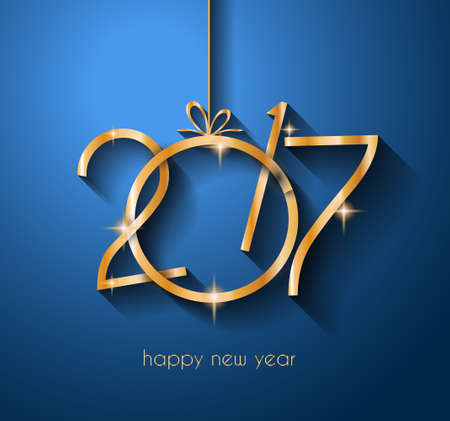 happy new years: 2017 Happy New Year Background for your Flyers and Greetings Card. Ideal to use for parties invitation, Dinner invitation, Christmas Meeting events and so on.
