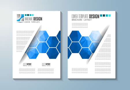 catalog design: Brochure template, Flyer Design or Depliant Cover for business presentation and magazine covers, annual reports and marketing generic purposes.