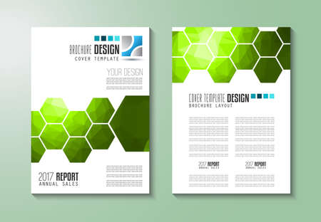 flyer design: Brochure template, Flyer Design or Depliant Cover for business purposes. Elegant layout with space for text and images.