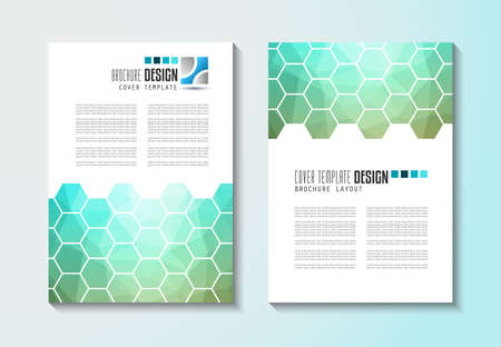 layout design template: Brochure template, Flyer Design or Depliant Cover for business purposes. Elegant layout with space for text and images.