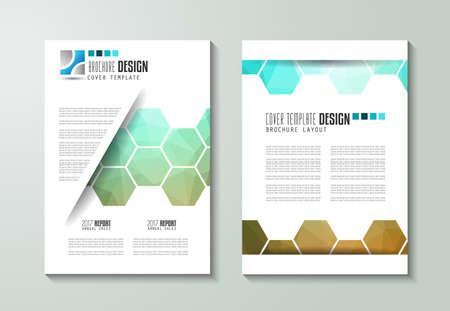 portadas de libros: Modelo del folleto, folleto o diseño de la cubierta Depliant para fines comerciales. diseño elegante con espacio para el texto y las imágenes.