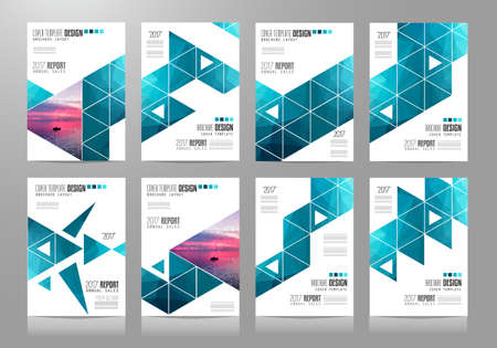 magazine template: Brochure template, Flyer Design or Depliant Cover for business presentation and magazine covers, annual reports and marketing generic purposes.