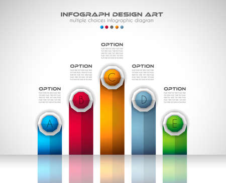 mobile: Infograph Brochure template with a lot of choices and a lot of infographic design elements and mockups. Teamwork ideas, branstorming sessions and generic business plan presentationsl.