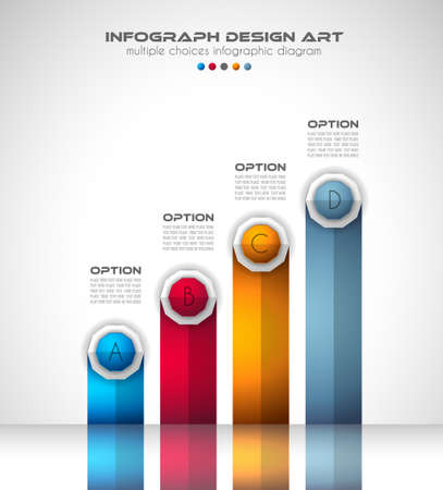 websit: Infograph Brochure template with a lot of choices and a lot of infographic design elements and mockups. Teamwork ideas, branstorming sessions and generic business plan presentationsl.
