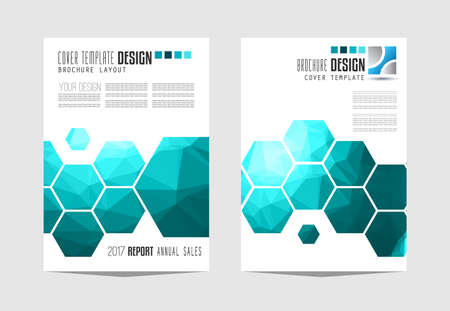 idea: Brochure template, Flyer Design or Depliant Cover for business presentation and magazine covers, annual reports and marketing generic purposes.