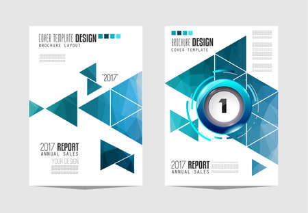 cover: Brochure template, Flyer Design or Depliant Cover for business presentation and magazine covers, annual reports and marketing generic purposes.