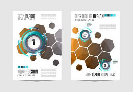 abstract backgrounds: Brochure template, Flyer Design or Depliant Cover for business presentation and magazine covers, annual reports and marketing generic purposes.