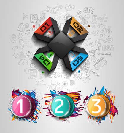 Modern Infographic Broschüre Vorlage Für Produkt-Ranking, Business ...