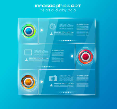 Modern Infographic Brochure Template For Product Ranking Business