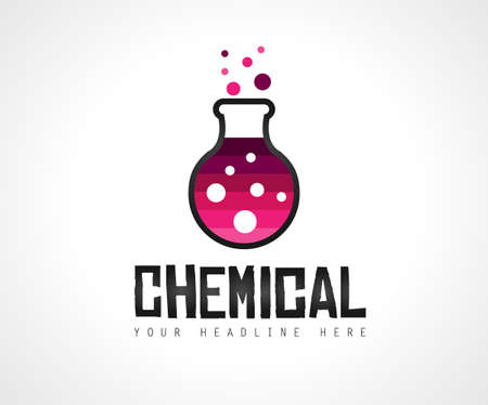 Creative Chemical Colorful  Logo design for brand identity, company profile or corporate logos with clean elegant and modern style.