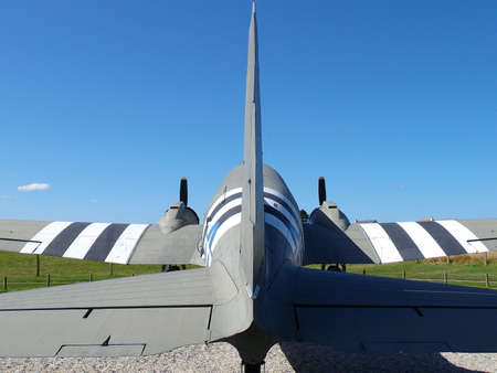 aircraft Dakota of the landing in Normandy