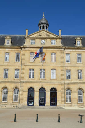 frenchwoman: city hall of Caen (Normandy)