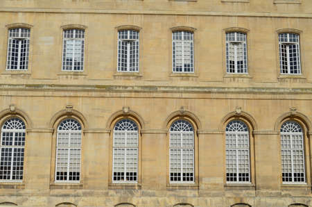 double glazing: city hall of Caen  (Normandy)