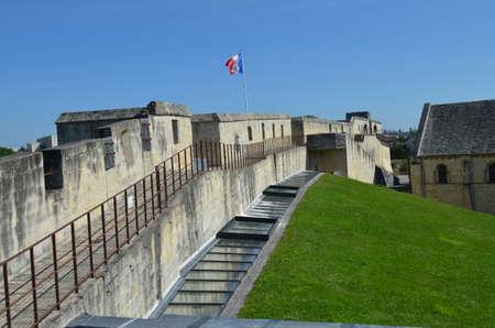 bulwark: Bulwark of the Ducal Castle of Caen (Normandy)