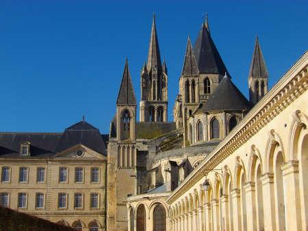 Men's Abbey in Caen (Calvados - France)