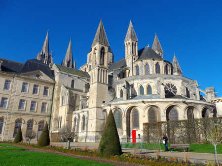 Mens Abbey in Caen (Calvados - France)