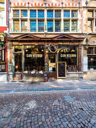 belgien: Temmerman Haus, Gent, Flandern, Belgien, Europa