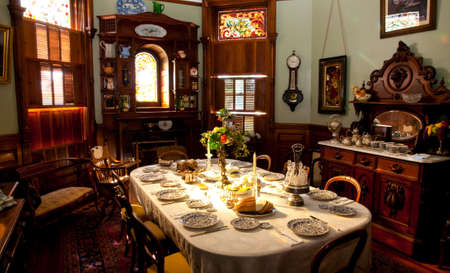 Victorian breakfast room