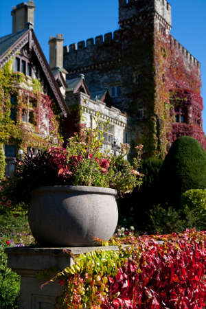 stately: Hatley Castle and grounds, Royal Roads University, Victoria, BC