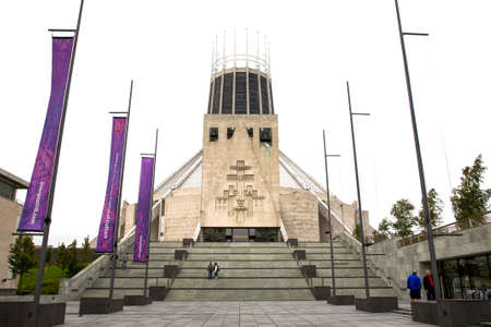 metropolitan: Liverpool Metropolitan Cathedral, Liverpool UK