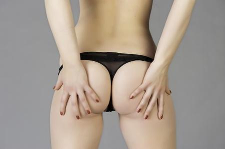 thong panties: Lingerie Stock Photo