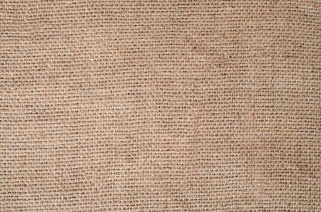 burlap sac: Sackcloth canvas. The image can be used as a background. Stock Photo