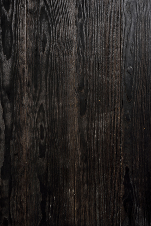 black textured background: Black textured wooden background Stock Photo
