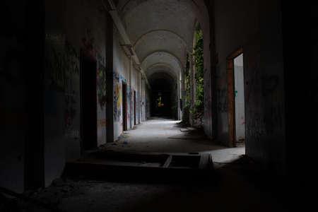Abandoned psychiatric hospital - asylum - in Mombello, (Limbiate), Monza and Brianza, Lombardia, Italy
