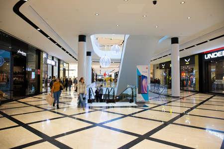 Orio Al Serio, Bergamo / Italy - 08/12/2018: Orio Center Shopping Mall Editorial