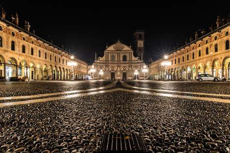 Ducale square, Vigevano.