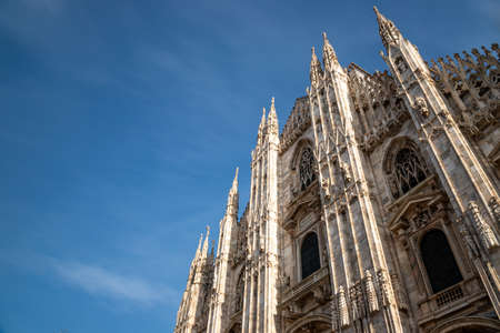 Milan Cathedral, one of the largest churches in the world. Milan Cathedral