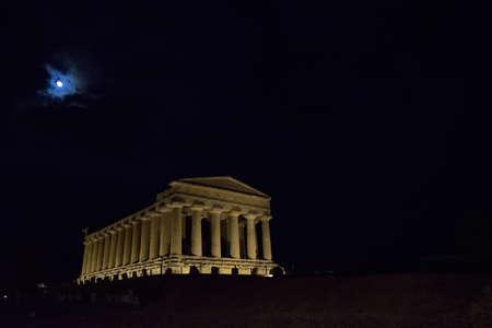concordia: Temple of Concordia, Agrigento Stock Photo