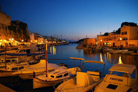 menorca: Port of Ciutadella, Menorca, Spain