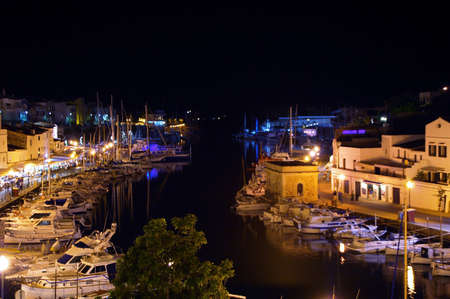 menorca: harbor of Ciutadella, Menorca, Spain