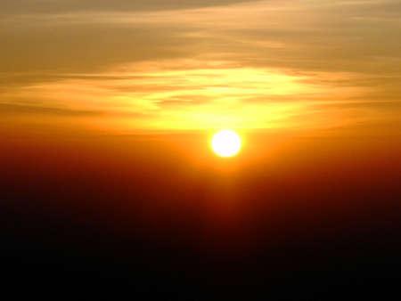 monte sinai: Salida del sol en la cima del Monte Sina� - Egipto