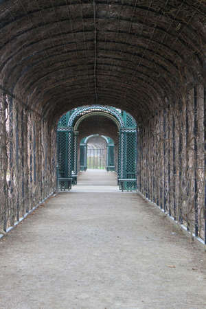 nbrunn: Covered Passage in Sch nbrunn Palace - Vienna