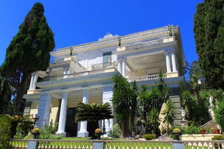 Achilleion Palace - Corfu Editorial