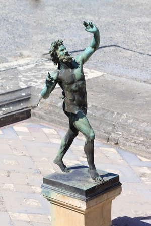 faun: Dancing Faun Statue - Pompeii
