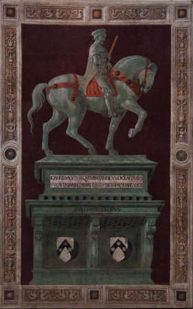 medici: Funeral Monument Fresco Medici - Florence Dome