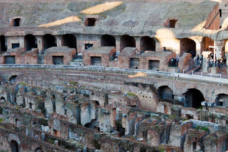 passageways: Colosseum Amphitheatre Arena and Hypogeum - Rome