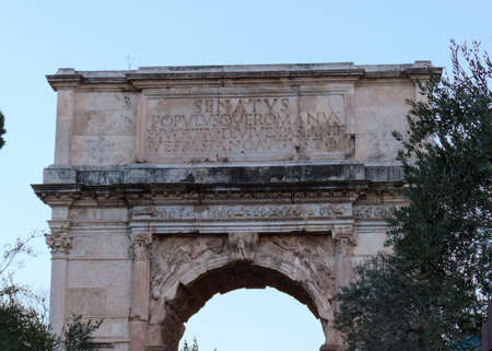 constantine: Arch of Constantine - Rome