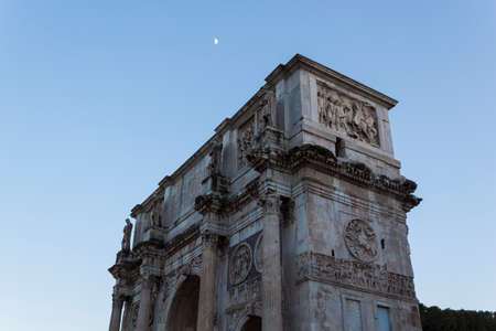 constantino: Arch of Constantine - Rome