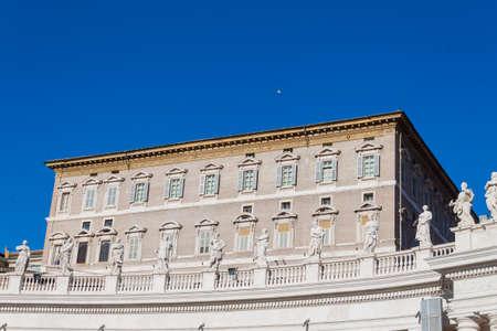 spqr: Palacio Apostólico Plaza de San Pedro - Roma