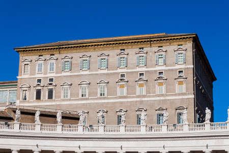 apostolic: Apostolic Palace Piazza San Pietro - Rome Editorial